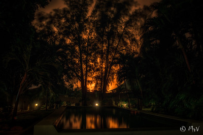 Isla at night
