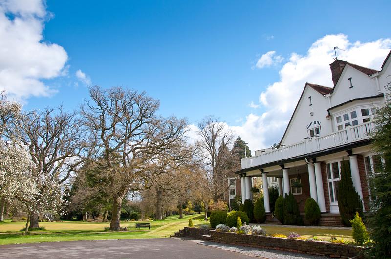 Spring Wedding at Charteridge Lodge