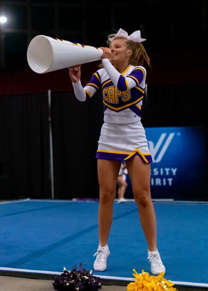 Broughton cheerleading Pre-States. November 16, 2019. D4S_1754