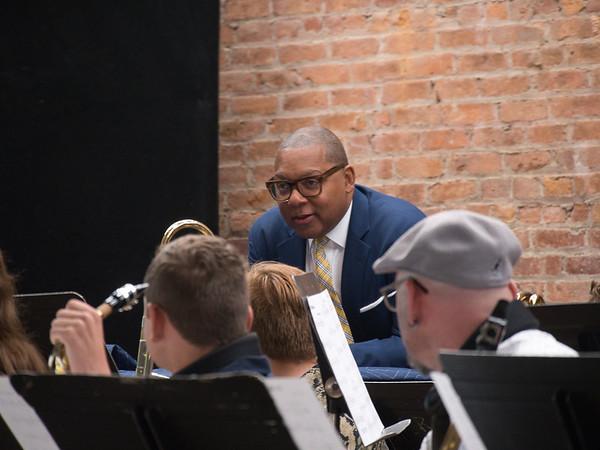 Stissing High School Jazz Band Master Class