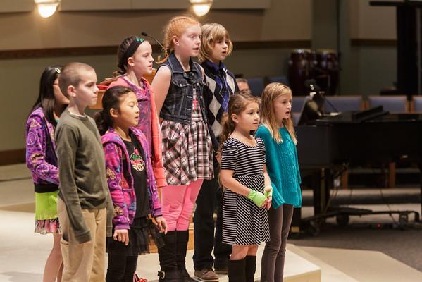 2013 November 17 Kids and Cherub Choir