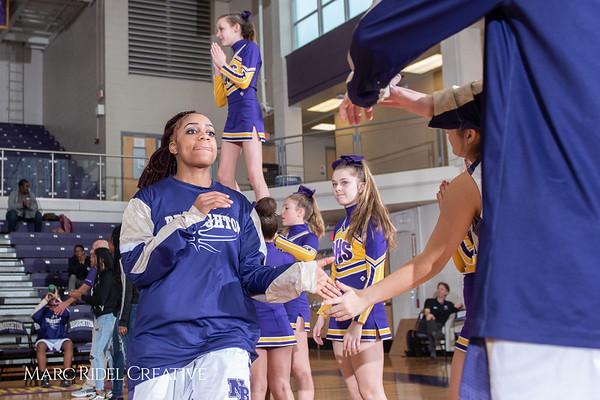 Broughton girls varsity basketball vs Millbrook. February 15, 2019. 750_7237