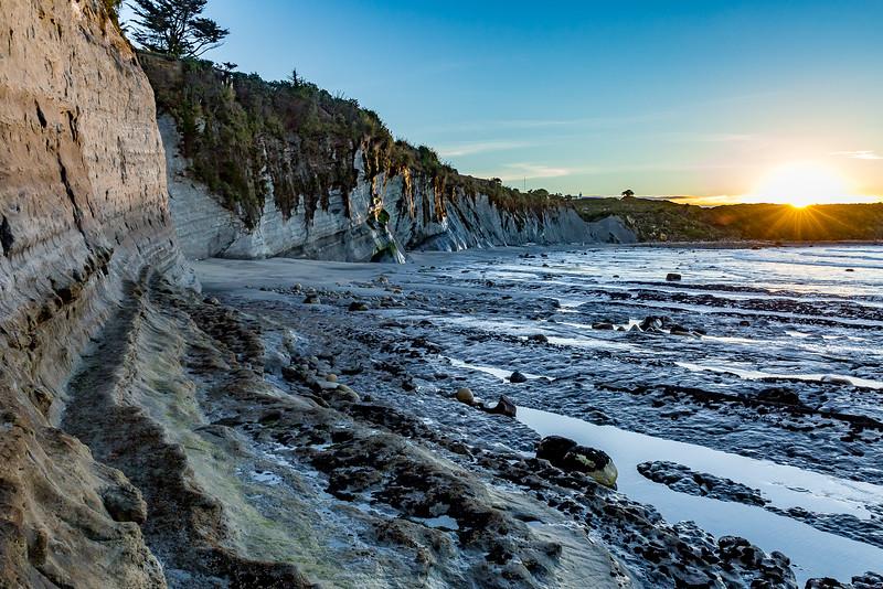 «Cape Foulwind»: letzte Sonnenstrahlen