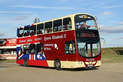 Advert & Centenary Buses