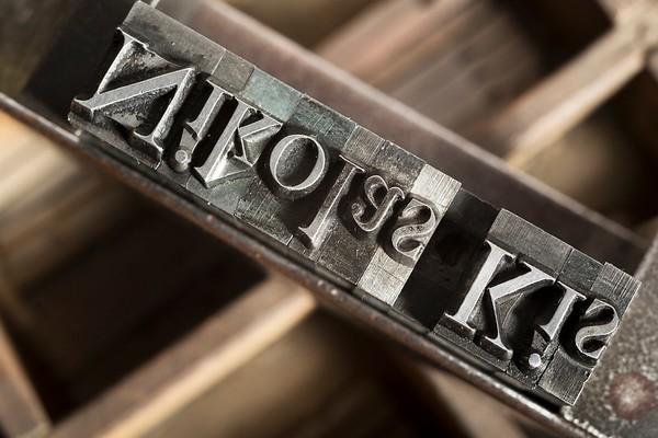 Baroque typefaces - Caratteri barocchi