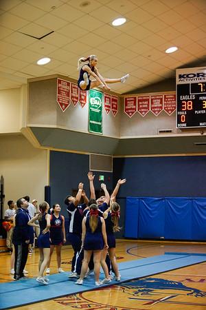 LCA Cheer Stunt (Senior Night)