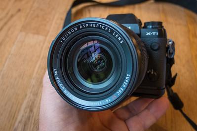 Fuji 18-135mm Lens