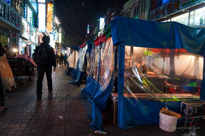 Street food at BIFF street