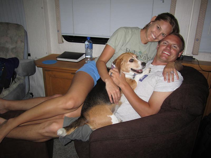 9/10/2011 ECU vs Virginia Tech  Stephanie, Dixie, JG