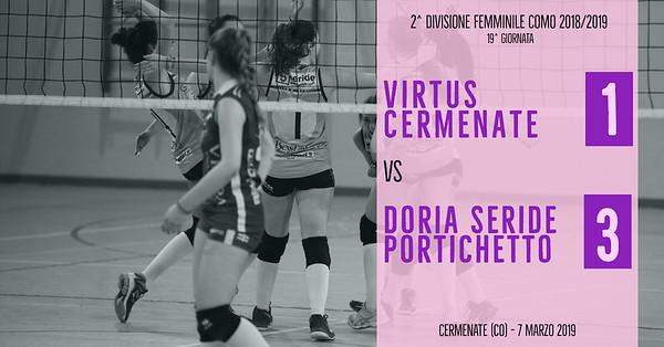 CO-2Df: 19^ Virtus Cermenate - Doria Seride Portichetto