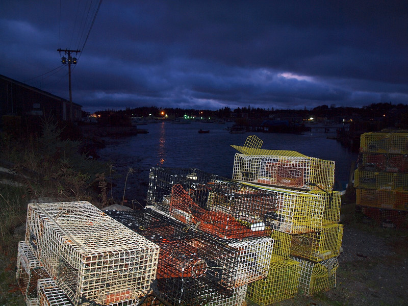 Lobster Traps - Vinalhaven