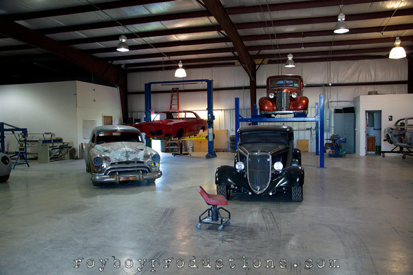 Bill Hughart's 34 Ford