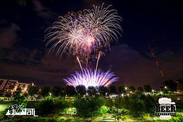Fireworks in the Fourth Ward - Thursday 7-4-2019