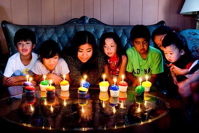 Cousins Party:  August 20, 2013