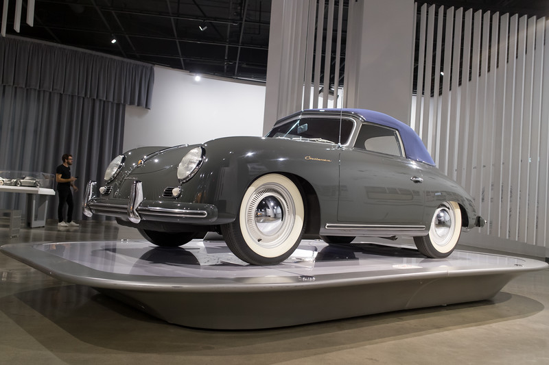 1955 Porsche Continental Cabriolet - Peterson Automotive Museum