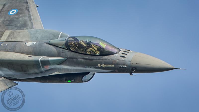 Hellenic Air Force display team Seuz - Lockheed Martin F-16CJ Fighting Falcon