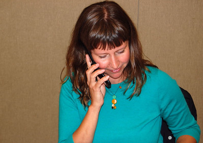 Phone Polling at IFT Headquarters