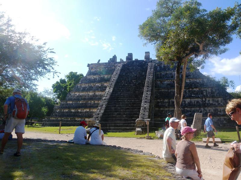 Chichen Itza - 11 Ossario - The High Priests' Temple