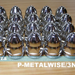 SKU: P-METALWISE/3N20M, 20 Pieces of MetalWise Mach Three 130A Plasma Air-Cooling Mechanized Torch ≤100A Fine Cut Nozzle