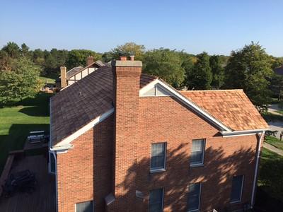 Cedar Roof Aluminum Gutters Glenview IL