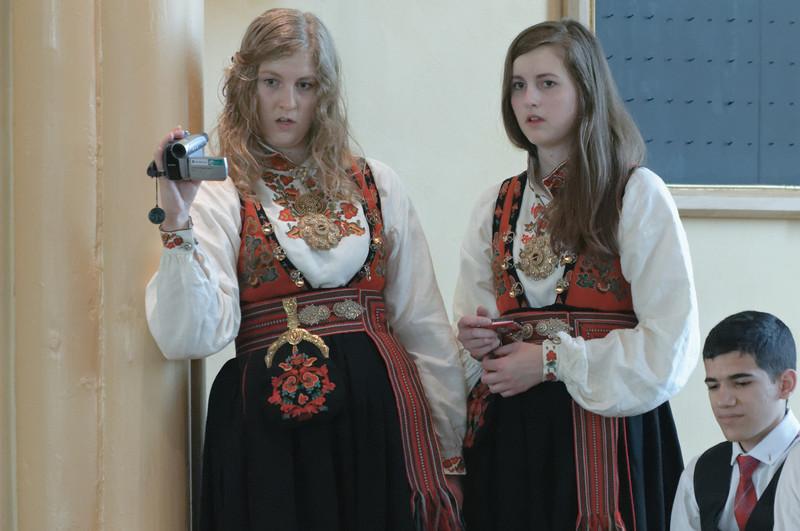 Melvins Schwestern.