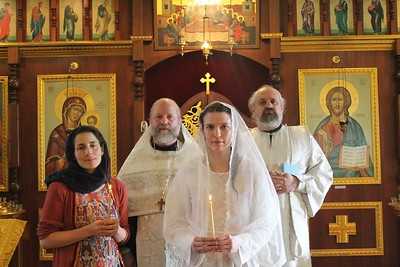 Madelyne Baptism