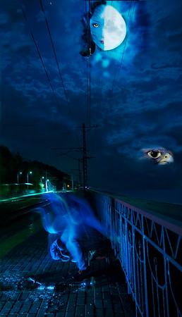 """""""The escape"""" (photoshop) by Alexei Guskov"""