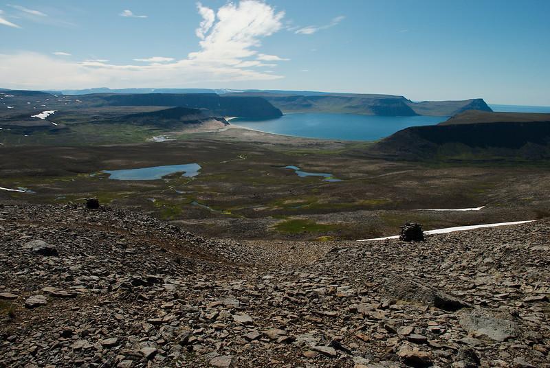 Horft yfir Aðalvík