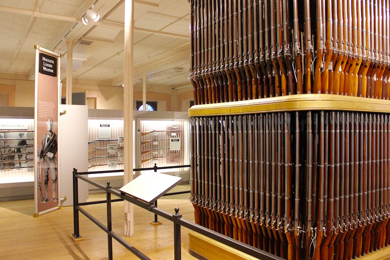 What to do in the Pioneer Valley of Massachusetts: the Springfield Armory in Springfield, Massachusetts