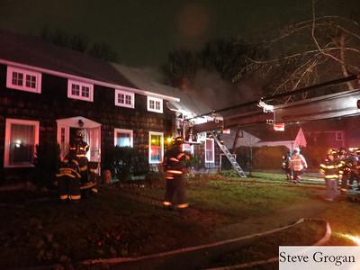 Cornwell Ave House Fire 12/20/12