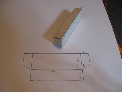 Bumper box section