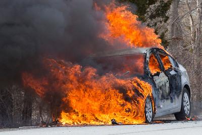 Car Fire - Westtown