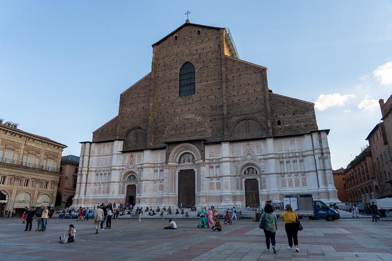Basilica di San Petronio on Piazza Maggiore
