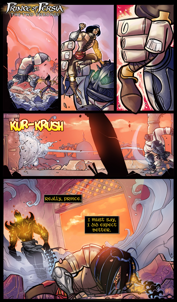 Prince of Persia, The Two Thrones Page 1