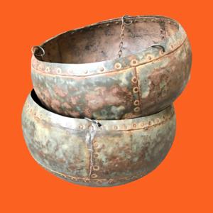 Vintage Indian Water Buckets