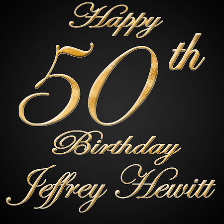 Jeff Hewitt 50th Birthday