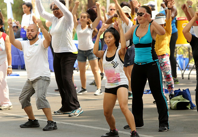 2014 August Fitness Challenge - Hollywood Bowl