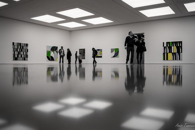 Museum session, London