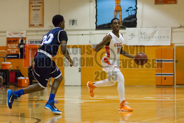 Dr. Phillips Panthers @ Boone Braves Boys Varsity Basketball - 2015
