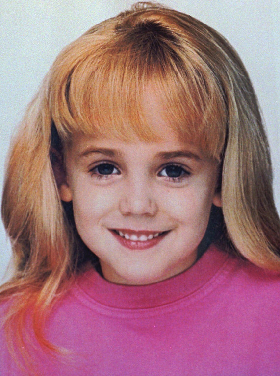 . This is an undated file photo of JonBenet Ramsey, who was found dead in the basement of her family\'s home in Boulder, Colo., Dec. 26, 1996. (AP Photo/Boulder Police Department, File)