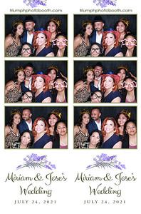 7/24/21 - Miriam & Jose Wedding