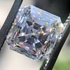 3.02ct Antique Asscher Cut Diamond, GIA G VS2 7