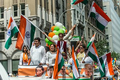 The 2014 New York City India Day Parade