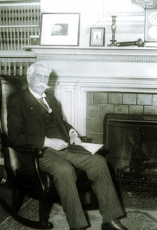 . A March 1931 photo of Oliver Wendell Holmes, Justice of the U.S. Supreme Court. (AP Photo)
