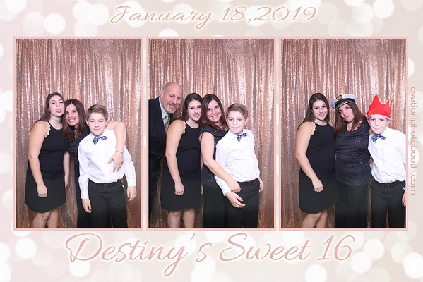 Destiny's Sweet 16 - January 18th 2019