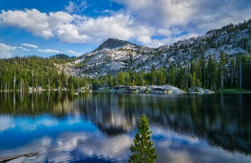 Backpack to Crag Lake