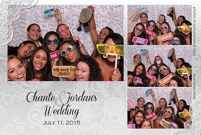 Jordan & Chante's Wedding (Mini Open Air Photo Booth)