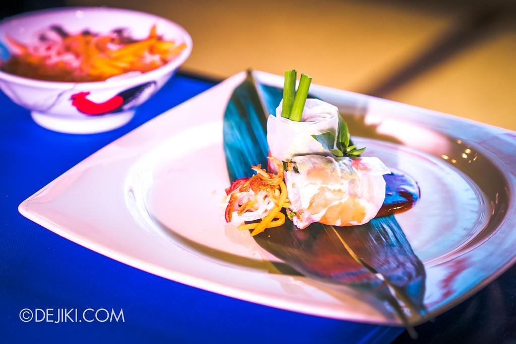 RWS Street Eats 2018 - Chef Steven Long's signature Vietnamese Summer Rolls