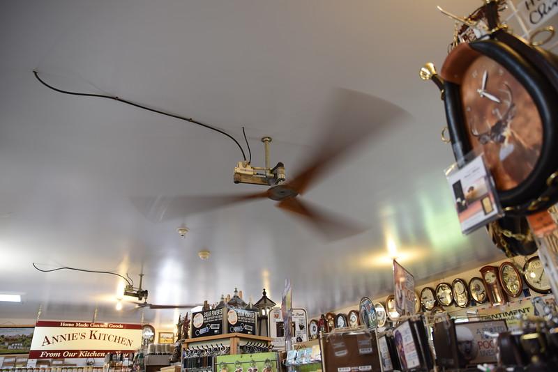 pneumatic driven fan