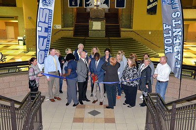 OE Sports Boosters and Wolf Parents Ribbon Cutting Ceremony 2016